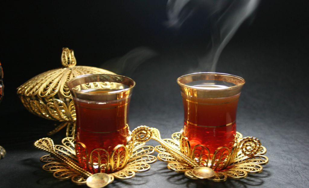 dulces y te arabe