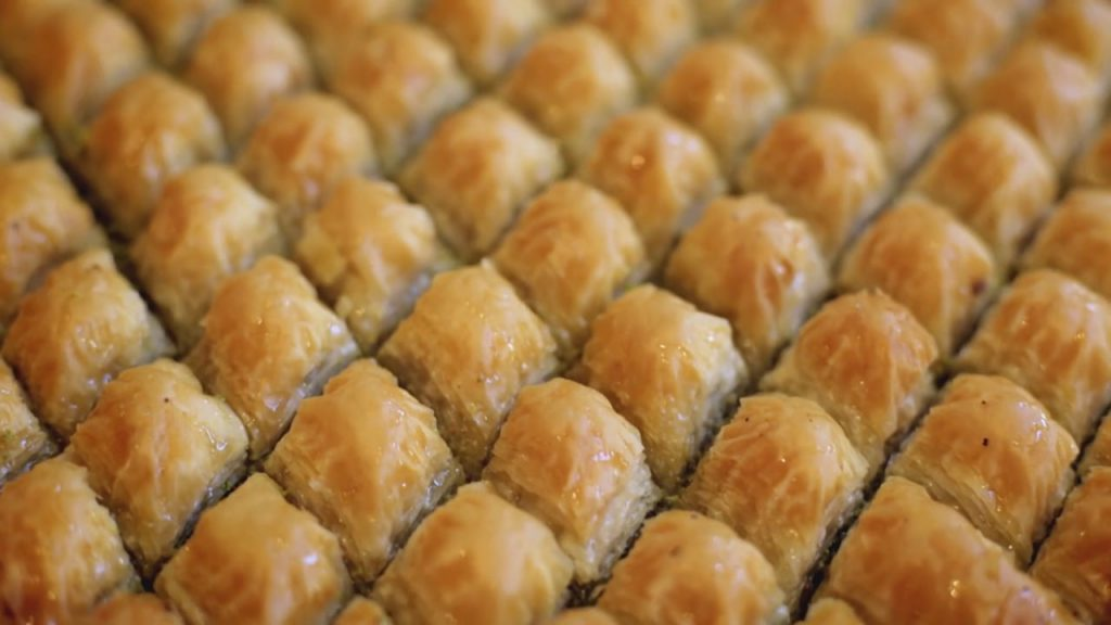 baklavas dulces turcos