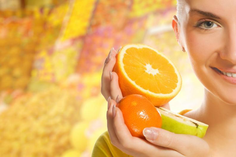fruta entera