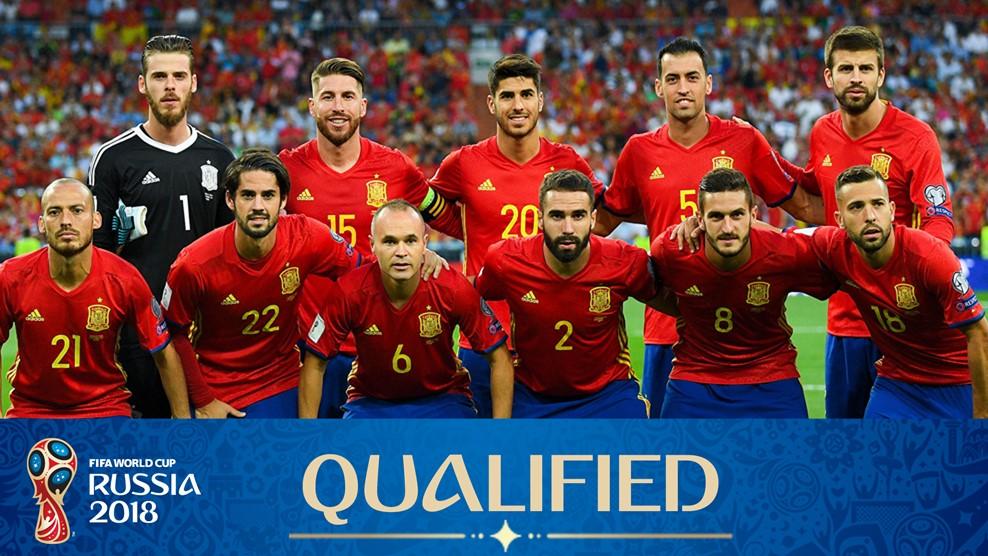 Selección de España 2018