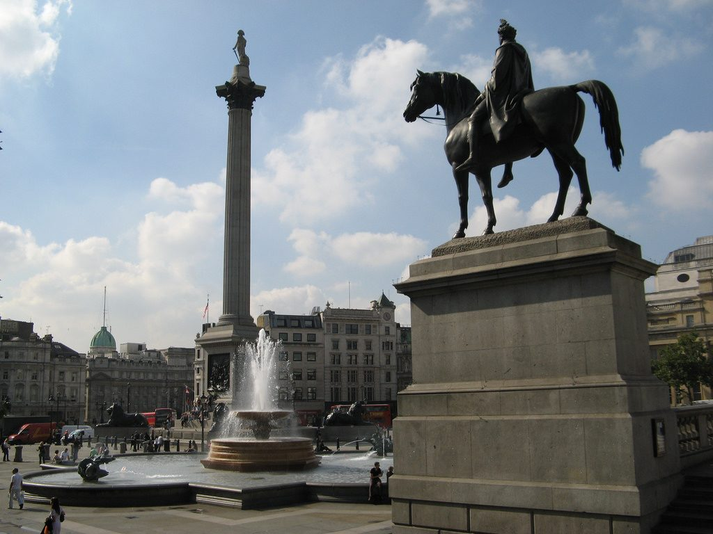 Trafalgar Square Tipico