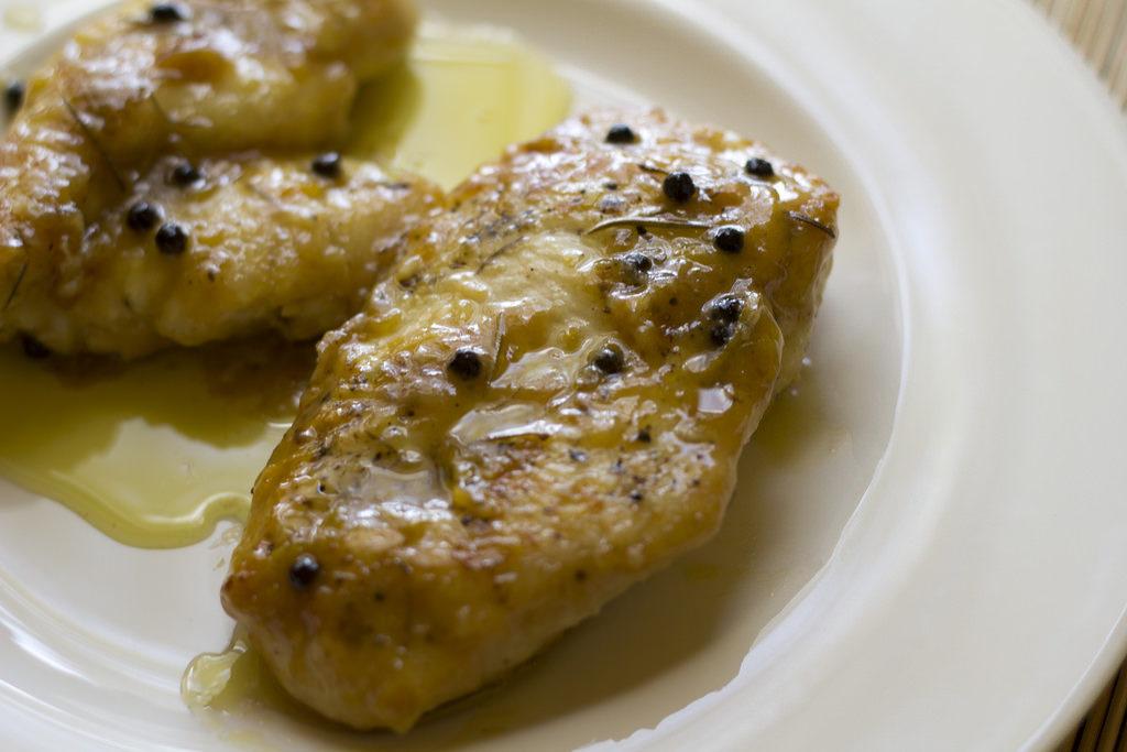 pollo con limón